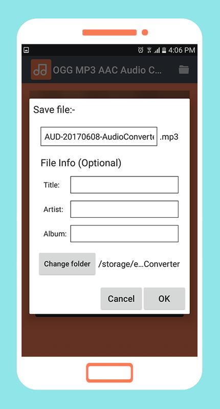 Ogg mp3 aac audio converter для андроид скачать apk.