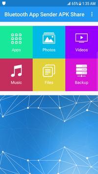 Bluetooth App Sender APK Share 海报