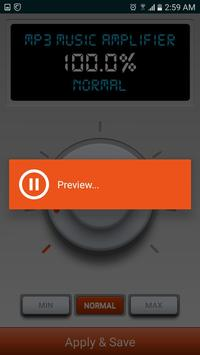 MP3 Music Amplifier & Sound Booster apk screenshot