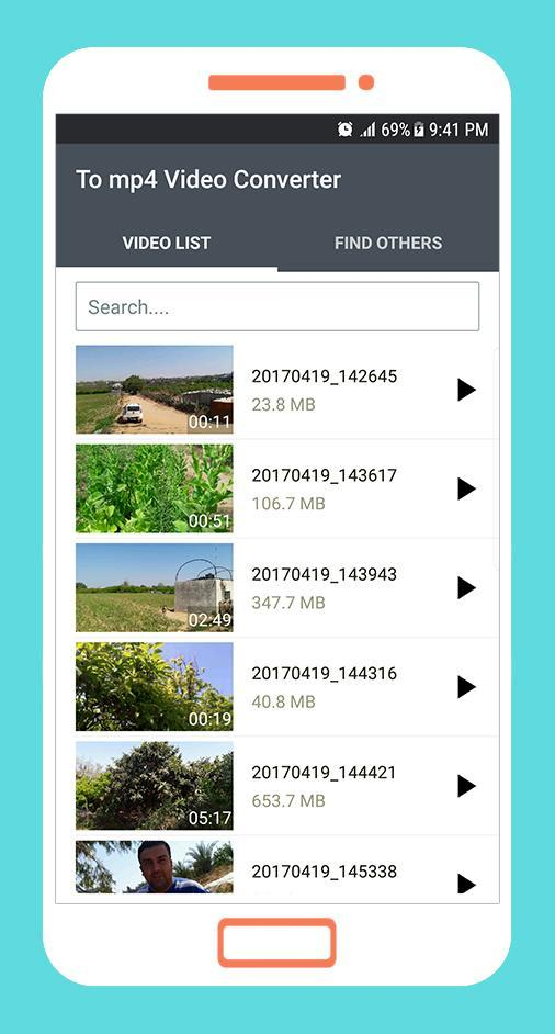 To mp4 3gp webm video converter app for android apk download.