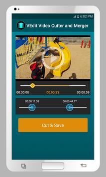 VEdit Video Cutter and Merger screenshot 2