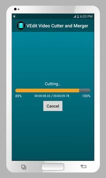 VEdit Video Cutter and Merger screenshot 4
