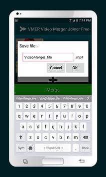 VMER Video Merger Joiner Free apk screenshot