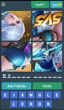 4 Pics 1 Mobile Game - Quiz poster