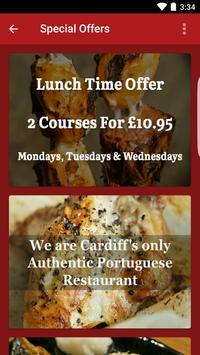 Madeira Restaurante Cardiff screenshot 1