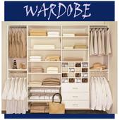 clothes wardrobe designs icon