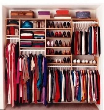 clothes wardrobe designs poster