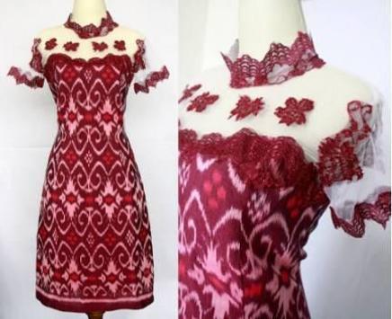 Clothing batik designs poster