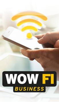 WOW FI Business poster