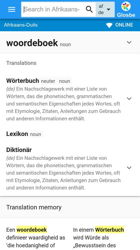 English afrikaans dictionary f 2. 96 free download.