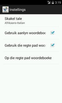 Afrikaans-Italian Dictionary screenshot 4