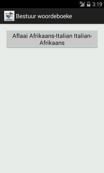 Afrikaans-Italian Dictionary screenshot 5
