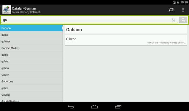 Catalan-German screenshot 12