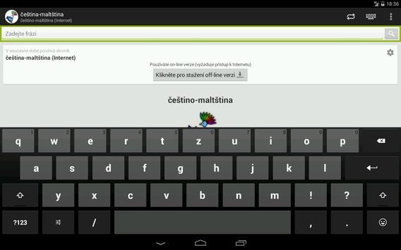 Czech-Maltese Dictionary screenshot 6