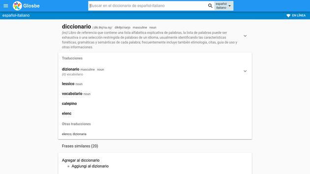 Italiano Español Diccionario For Android Apk Download