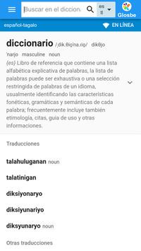 Tagalo-Español Diccionario poster