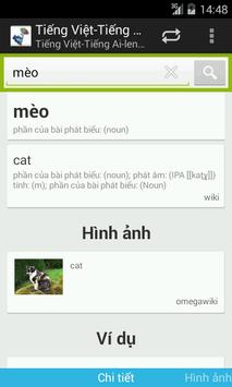 Irish-Vietnamese Dictionary apk screenshot