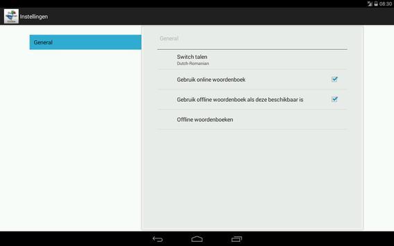 Dutch-Romanian Dictionary screenshot 9