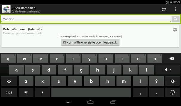 Dutch-Romanian Dictionary screenshot 11