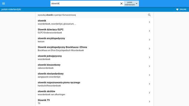 najlepiej sprzedający się najlepszy tak tanio Niderlandzko-Polski słownik for Android - APK Download