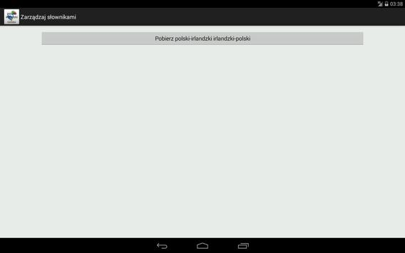 Polish-Irish Dictionary apk screenshot