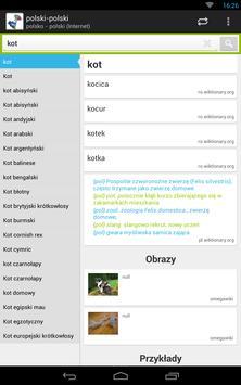 polsko - polski słownik screenshot 15