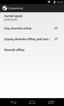 polsko - polski słownik screenshot 4