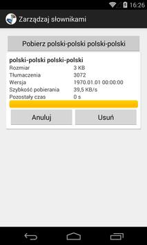 polsko - polski słownik screenshot 6