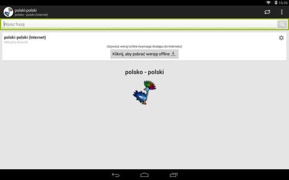 polsko - polski słownik screenshot 7