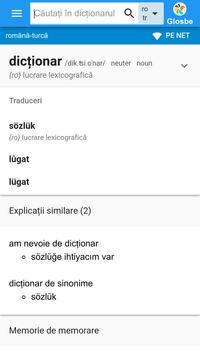 Turcă-Română Dicționar poster