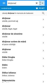 Turcă-Română Dicționar apk screenshot
