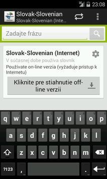 Slovak-Slovenian Dictionary poster