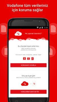 Vodafone Güvenli Depo poster