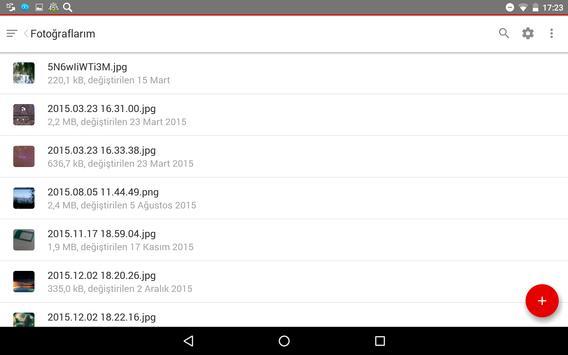 Vodafone Güvenli Depo apk screenshot