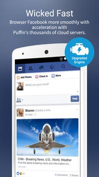 Puffin for Facebook 截图 1