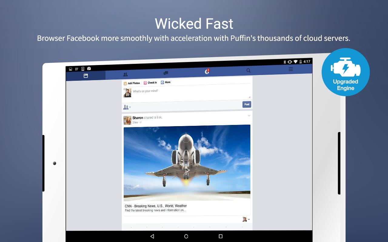 Puffin for Facebook for Android - APK Download