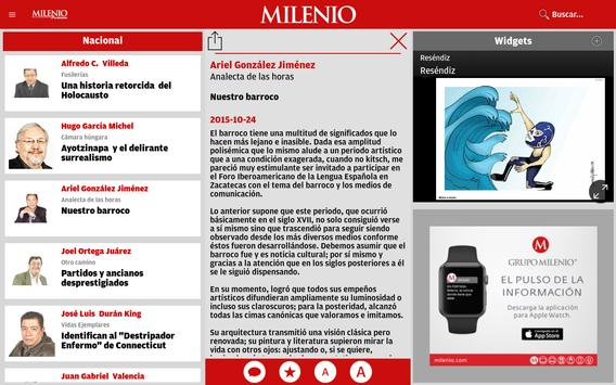 Milenio apk screenshot