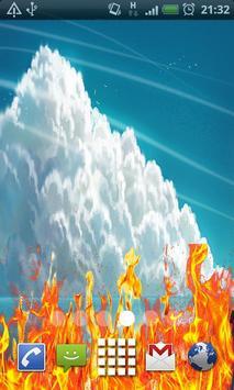 Clouds beautiful LiveWallpaper poster