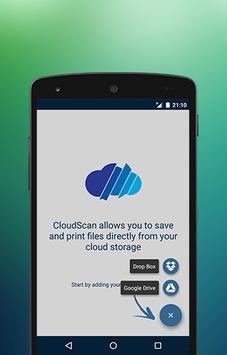 CloudScan poster