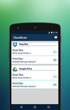CloudScan apk screenshot