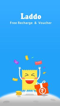 laddo free recharge & voucher poster