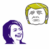 Election archery Trump icon