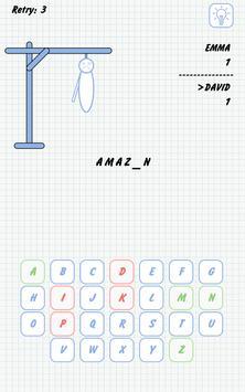 Hangman captura de pantalla de la apk