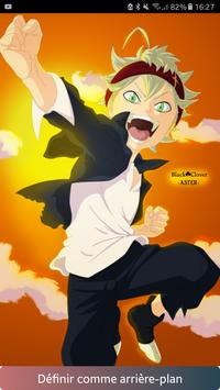 Wallpapers anime black clover poster