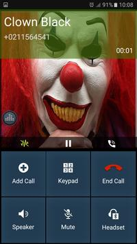 Killer clown appel 2017 apk screenshot
