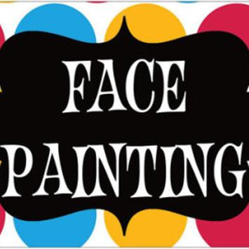 Clown Face Painting for Kids poster