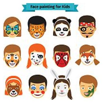 Clown Face Painting for Kids apk screenshot