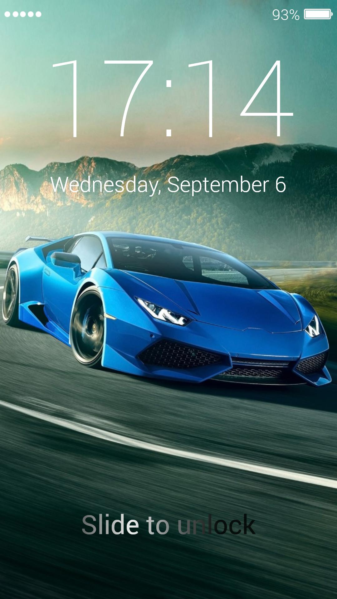 Super Racer Car Lock Screen Wallpapers For Android Apk