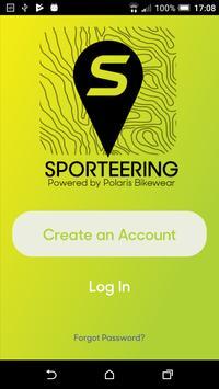 Sporteering poster