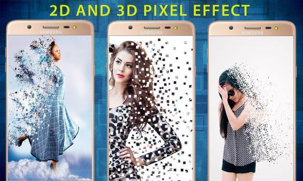 youcam perfect makeup: pixel effect 2018 screenshot 2